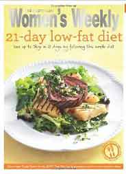 21 Day Low Fat Diet Australian Women`s Weekly Essential
