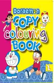 Doreamon Copy Colouring 2