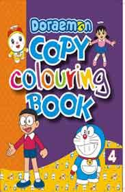 Doraemon Copy Colouring 4