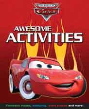 Disney Pixar Cars Copy And Colour Activity Fun