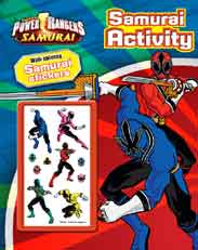 POWER RANGERS ACTIVITY BOOK