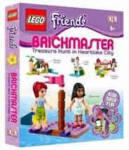 Lego Friends Brick master Make 18 Exclusive Lego Models BOX -