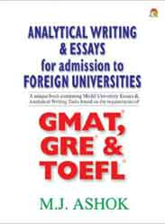 Analytical Writing and Essays for Admission to Foreign Universities -
