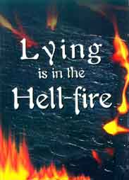 Lying is in the Hellfire