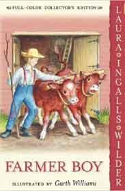Farmer Boy Little House HarperTrophy -