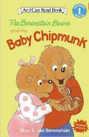 I Can Read Level 1 The Berenstain Bears and the Baby Chipmunk