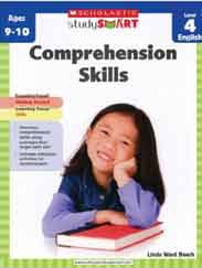 Comprehension Skills Level 4 Scholastic Study Smart -