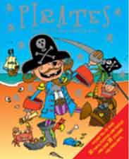 Pirate Activity Book Sticker and Activity Book