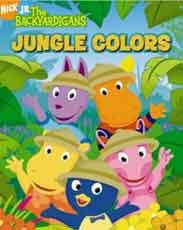 Jungle Colors Backyardigans