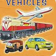 Mini Board Book Vehicles