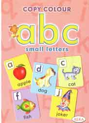 Copy Colour ABC Smaller Letters