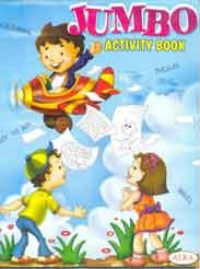 Alka Jumbo Activity BookBlue