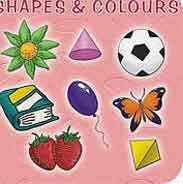 Mini Board Book: Shapes And Colours