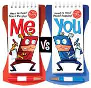 Me Vs You: Headtohead Pencil Games Challenge Illustrated