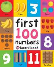 First 100 Numbers First 100 Soft to Touch Board Books