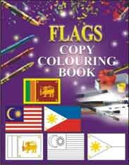Flags Copy Colouring Book