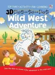 3D Dot to Dot Wild West Adventure -
