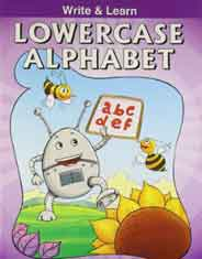 Write & Learn Lowercase Alphabets