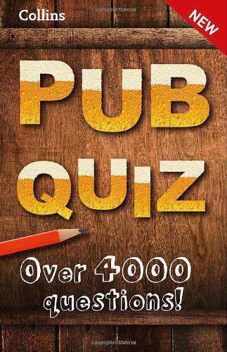 Collins Pub Quiz Quiz Books -