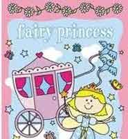 Fairy Princess Sticker and Colouring Book