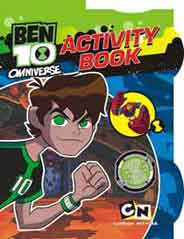 Quixots Ben 10 Omniverse A4 Activity Book