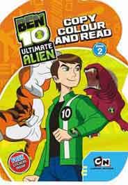 Quixots Ben 10 Ultimate Alien Copy Colour and Read Book 2