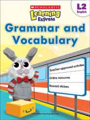 Grammar and Vocabulary Scholastic Learning Express L2