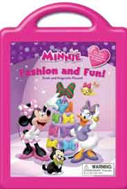Minnie Minnies Fashion and Fun: Book and Magnetic Playset
