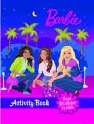 Barbie Activity Book With Sticker  -