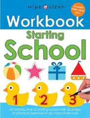 Wipe Clean Workbooks: Starting School