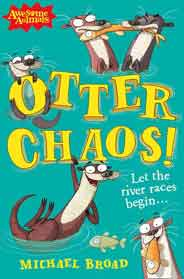 Otter Chaos Awesome Animals
