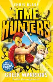 Greek Warriors Time Hunters Book 4