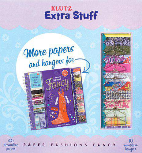 Extra Stuff for Paper Fashions Fancy