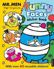 Mr Men Funny Faces Funny Faces Sticker Book
