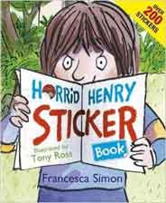 Horrid Henry Sticker BooK