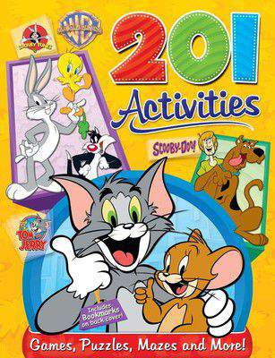 201 Activities  Lonney Tunes Tom and Jerry Scooby  Doo!