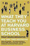 What They Teach You At Harvard Business School My Two Years Inside