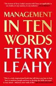 Management in 10 Words  -