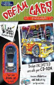 Cool Creations Dream Cars Activity Pack