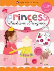 Little Princess World Sticker Activity Fashion Designer