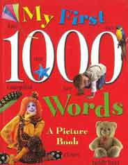 My First 1000 Words  A Picture Book