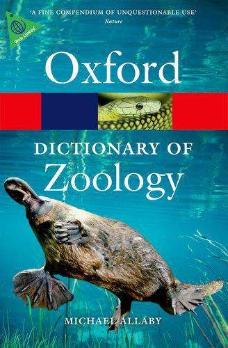 A Dictionary of Zoology -