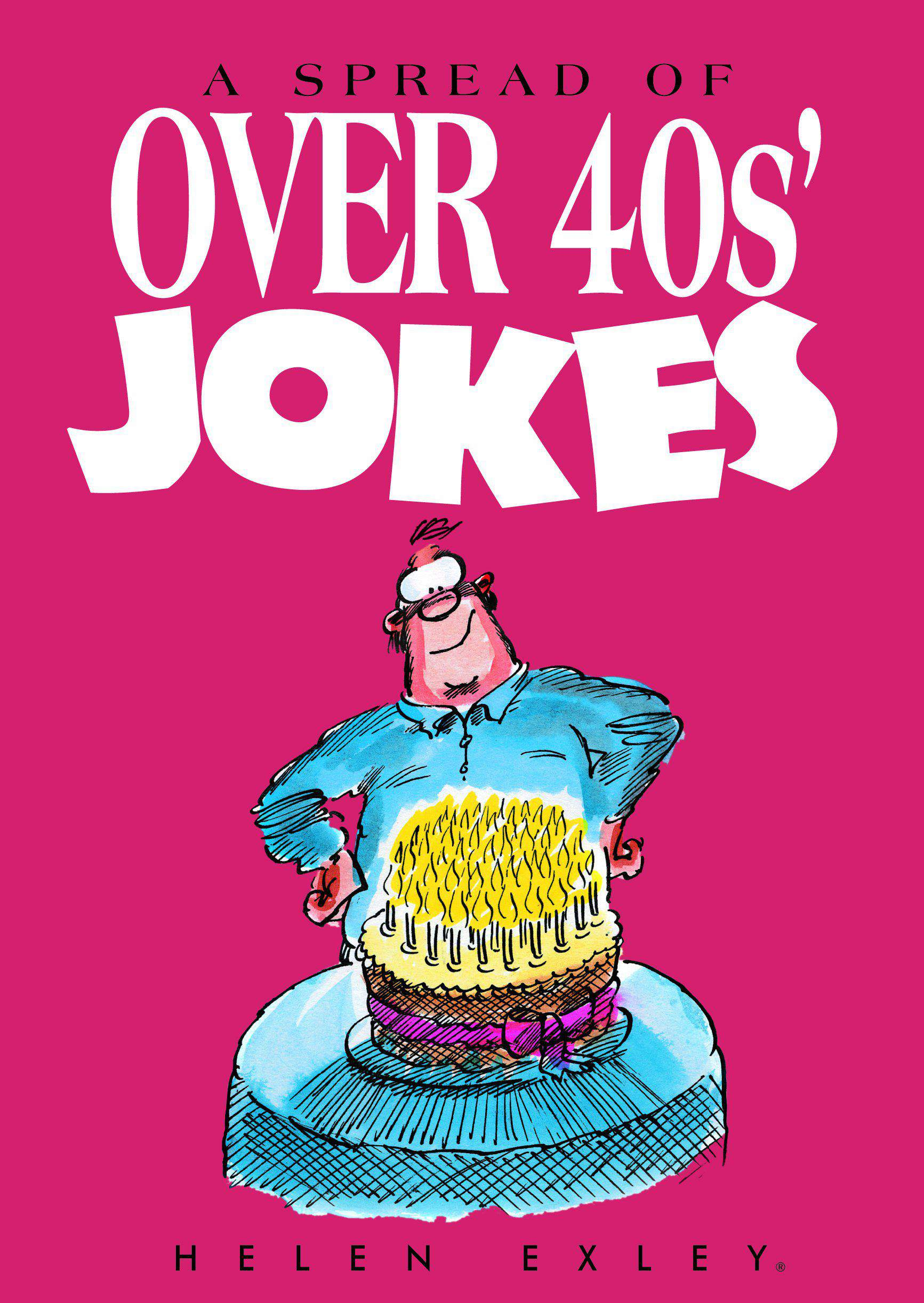 Spread of Over 40s Jokes