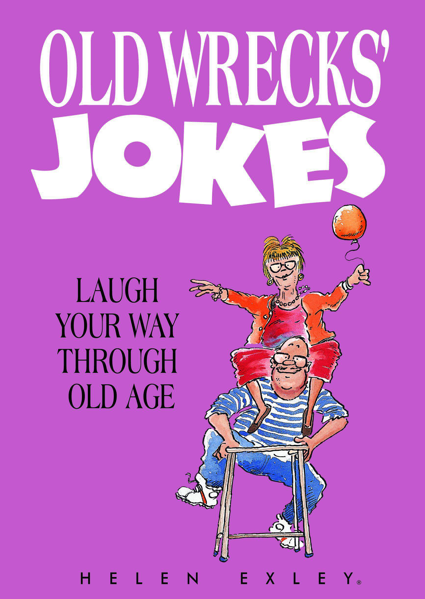 Old Wrecks Jokes Joke Book