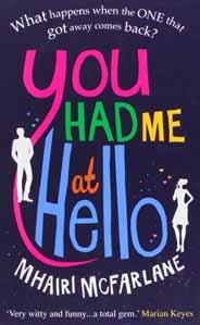 You Had Me at Hello -
