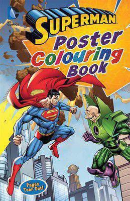Poster Colouring Books  Superman