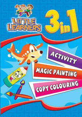 3 in 1 Colouring and Activity  Little Learners