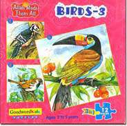 Birds 3 Box of Three Puzzles