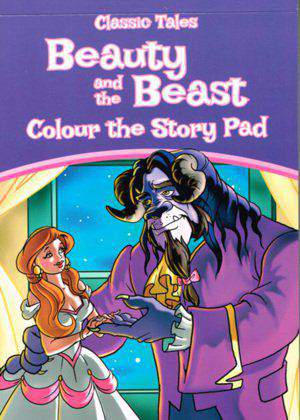 Classic Tales Pad  Beauty and The Beast