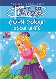 Princess Copy Colouring Snow White   -